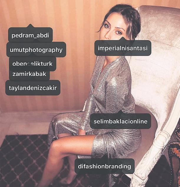 Serdar Ortaç'la evliliği sayesinde şöhreti yakalayan Chloe Loughnan Instagram'da yaptığı paylaşımlarla cebini dolduruyor
