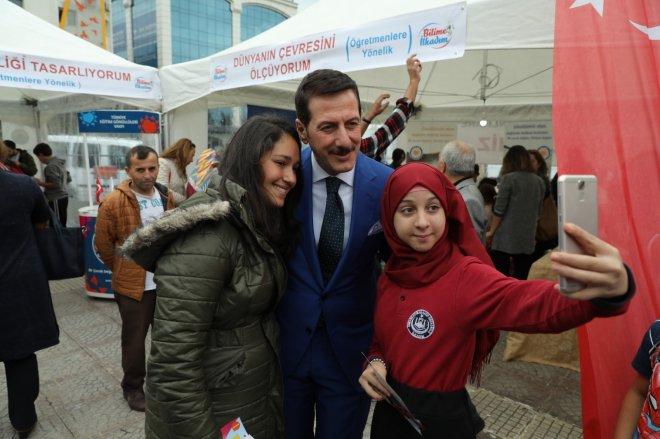 Samsun'da Bilime İlkadım Şenliği Gerçekleşti