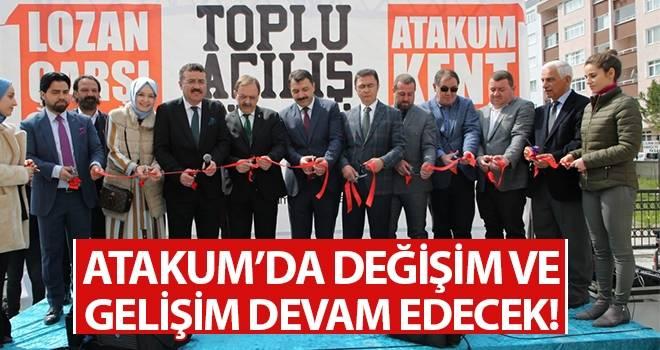 Başkan Taşçı; Atakum'da değişim ve gelişim devam edecek!
