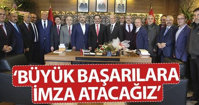 Mustafa Demir: Büyük başarılara imza atacağız