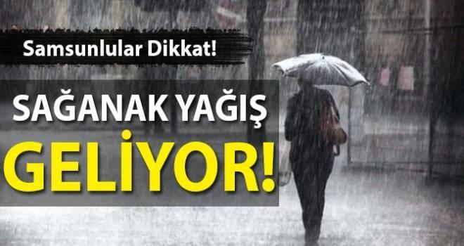 3 Mayıs Samsun'da Hava Durumu