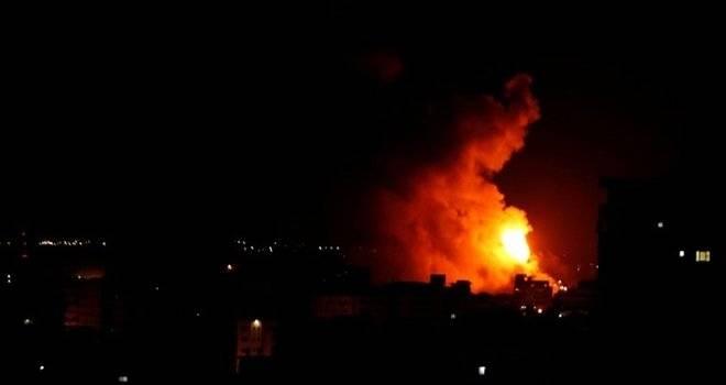 İsrail'den Gazze'ye 80 hava saldırısı