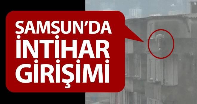 Samsun'da intihar girişimi..!