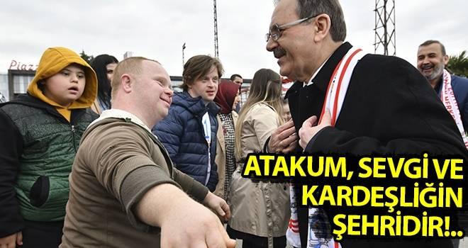 Başkan Şahin: Atakum, sevgi ve kardeşliğin şehridir!..