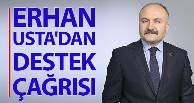 Erhan Usta'dan Destek Çağrısı