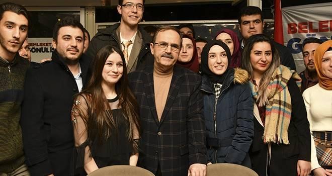 Zihni Şahin'den Atakumlulara Bilim ve Teknoloji Merkezi Müjdesi