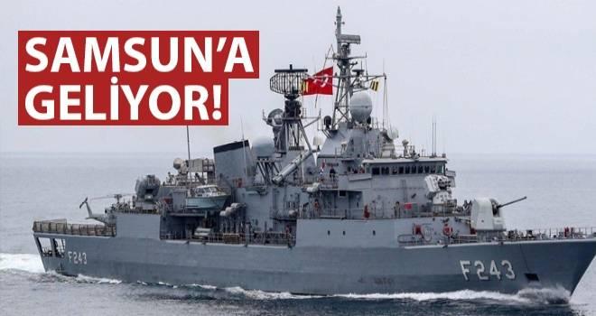 TCG YILDIRIM (F243) Samsun'a Geliyor..!