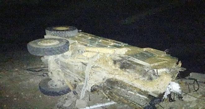 Hakkari'de 1 polisin şehit olduğu saldırıda 8 ton bomba