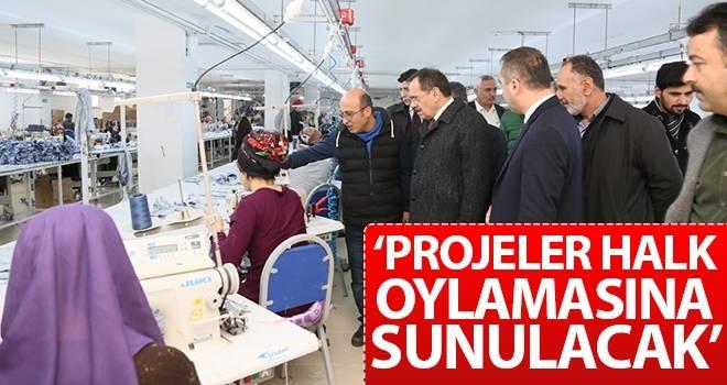 Mustafa Demir: Projeler halk oylamasına sunulacak