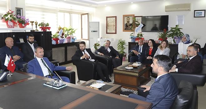 Milletvekili Kırcalı'dan Başkan Kalaycı'ya Ziyaret
