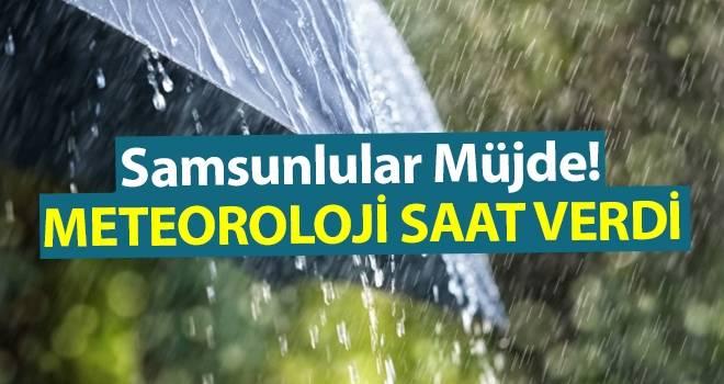 9 Temmuz Samsun'da Hava Durumu