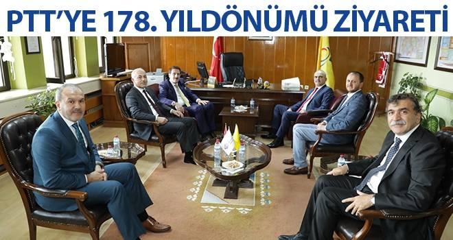 Tok'tan PTT'ye 178. Kuruluş Yıldönümü Ziyareti