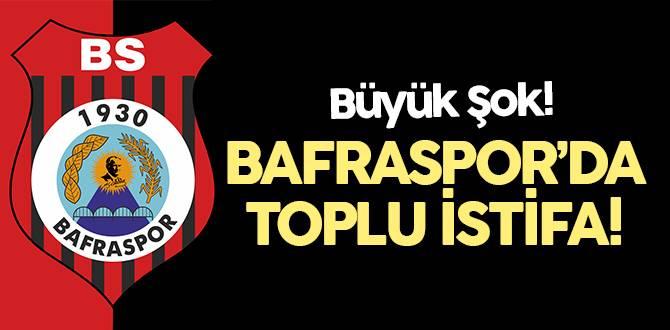1930 Bafraspor'da toplu istifa şoku!