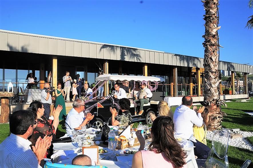 Samsun Golf Kulübü'nde İlginç Düğün Töreni