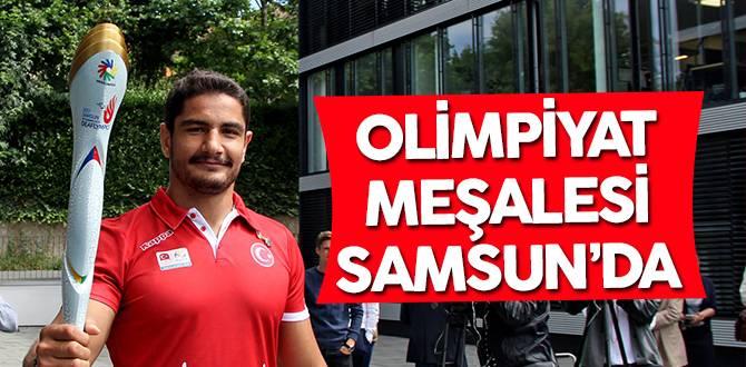 Olimpiyat Meşalesi Samsun'da