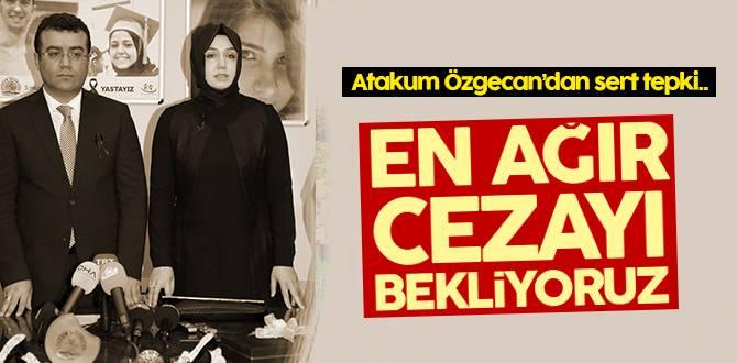 Atakum Özgecan'dan sert tepki