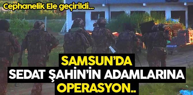 Samsun'da Mafya Operasyonu: Cephanelik Ele Geçirildi!