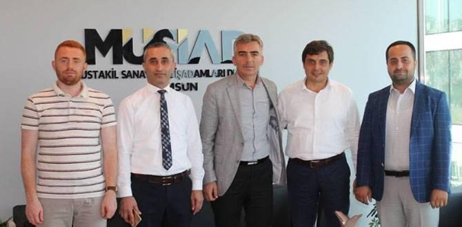 Tarım İl Müdüründen MÜSİAD'a Ziyaret