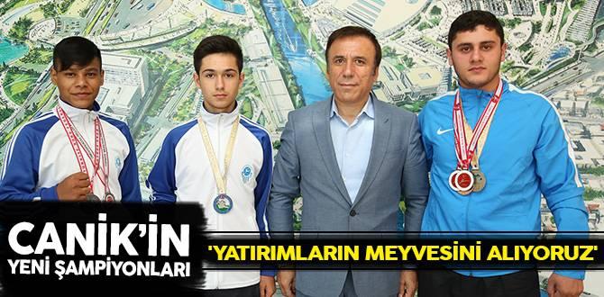 Canik'in Yeni Şampiyonları