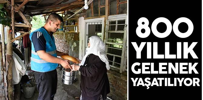 Tekkeköy Belediyesi 800 yıllık geleneği devam ettiriyor