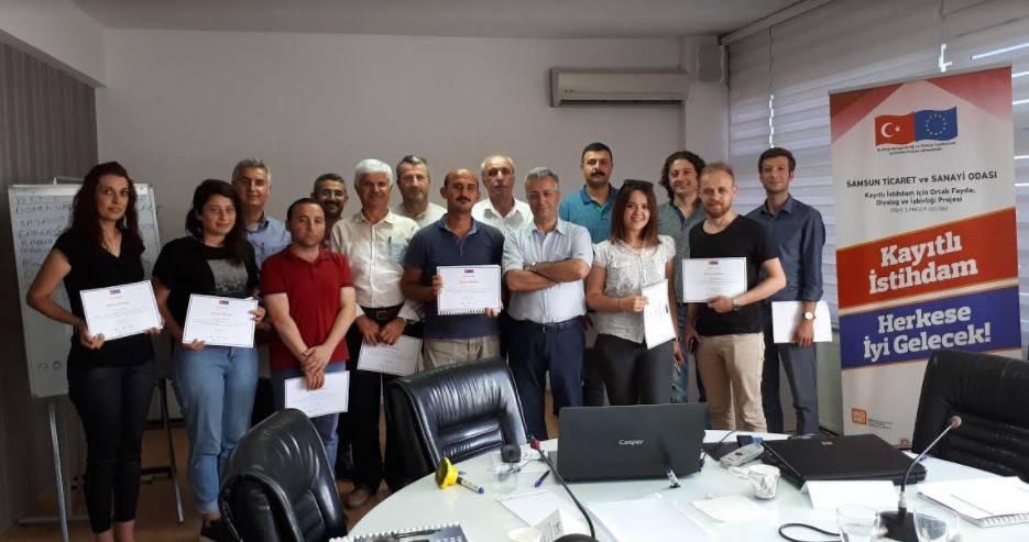 Samsun TSO'dan, İş geliştirme Eğitimi
