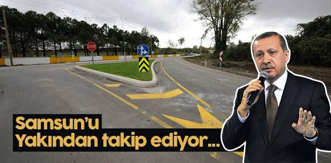 Cumhurbaşkanı Erdoğan Yakından Takip Ediyor