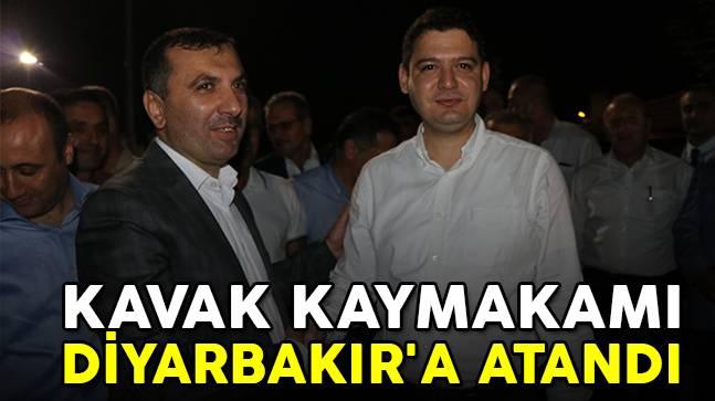 Kavak Kaymakamı Diyarbakır'a Atandı