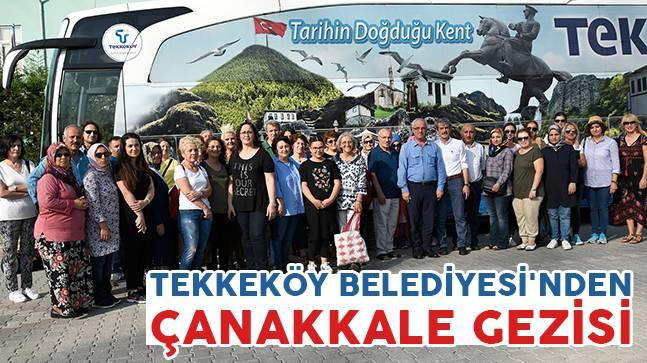 Tekkeköy Belediyesi'nden Çanakkale Gezisi
