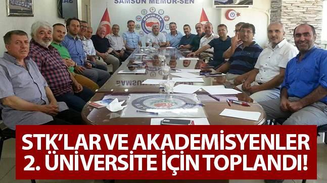 Samsun Üniversitesi için çalıştay düzenlendi!