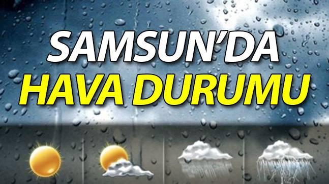 Samsun'da 29 Eylül Hava Durumu