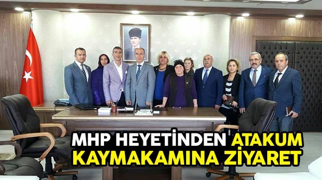 MHP Heyetinden Atakum Kaymakamına Ziyaret