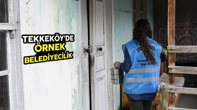 Tekkeköy'de Örnek Belediyecilik
