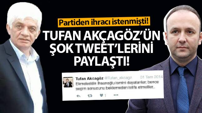 CHP Samsun İl Başkanı Tufan Akçagöz'ün şok paylaşımları ortaya çıktı!