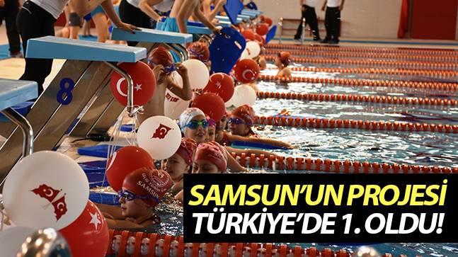 'Geleceğe Kulaç Atıyoruz Projesi' Türkiye'de birinci oldu!