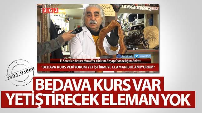 Samsun'da Bedava Kurs Var, Yetiştirecek Eleman Yok..!