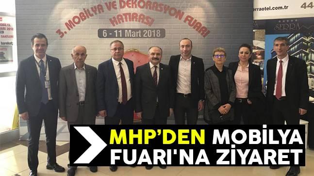MHP'den Mobilya Fuarı'na Ziyaret
