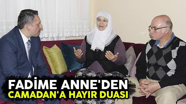 Fadime Anne'den Camadan'a Hayır Duası