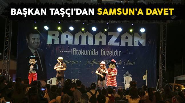 Başkan Taşçı'dan Samsun'a davet
