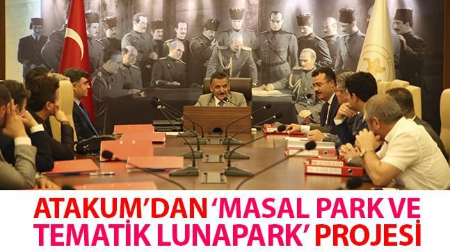 Atakum'dan 'Masal Park ve Tematik Lunapark' Projesi