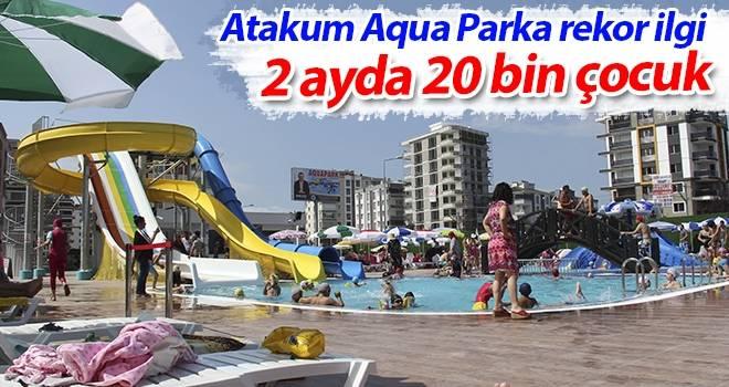 Atakum Aqua Parka rekor ilgi 2 ayda 20 bin çocuk