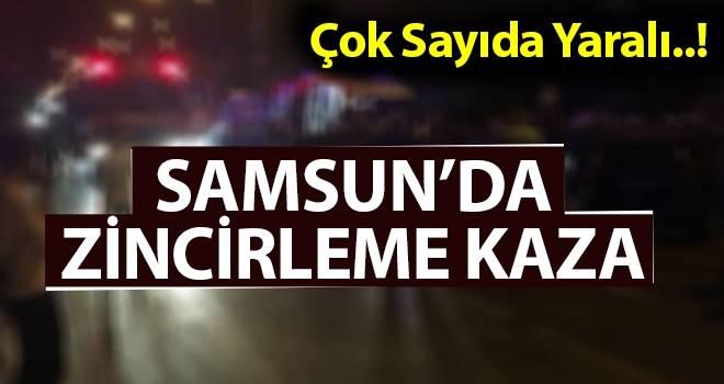 Samsun'da Zincileme Kaza