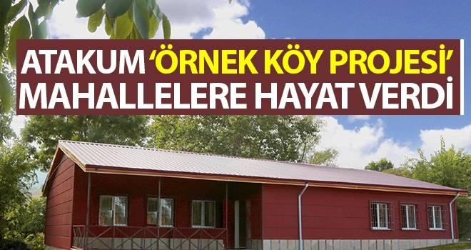 Atakum 'Örnek Köy Projesi' mahallelere hayat verdi