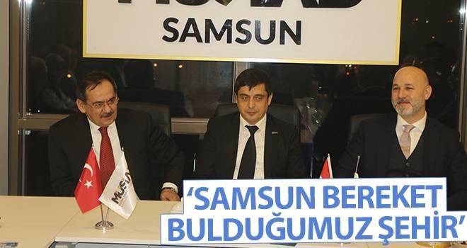 Mustafa Demir: Samsun Bereket Bulduğumuz Şehir