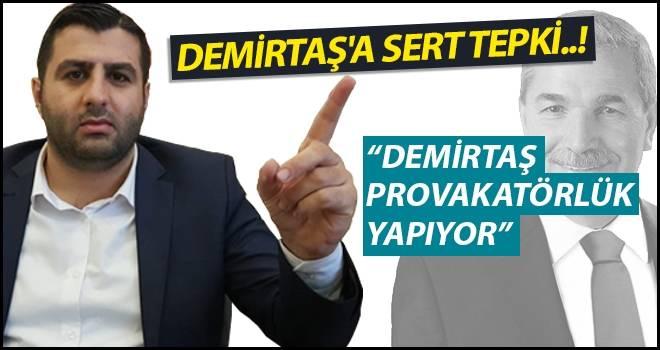 AK Parti İlkadım İlçe Başkanı Avcılar'dan Demirtaş'a sert tepki