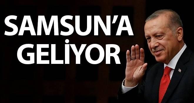 Ersan Aksu: Cumhurbaşkanı Erdoğan 19 Ocak'ta Samsun'da...!