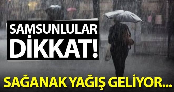 10 Eylül Samsun'da Hava Durumu