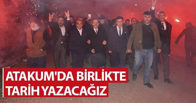 Başkan Şahin: Atakum'da Birlikte Tarih Yazacağız