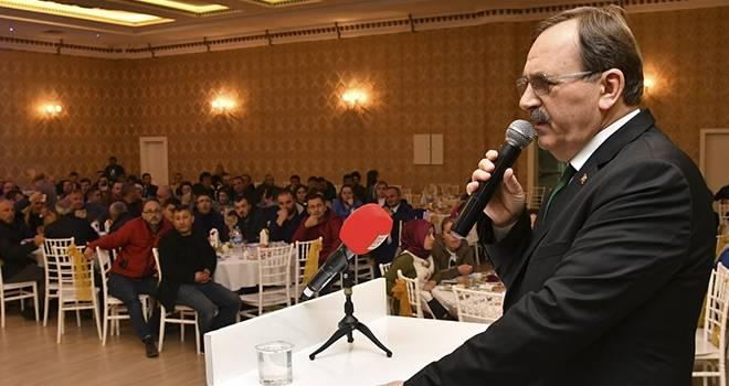 Zihni Şahin'den Atakum Belediyesi personeline 'İçiniz Rahat Olsun'