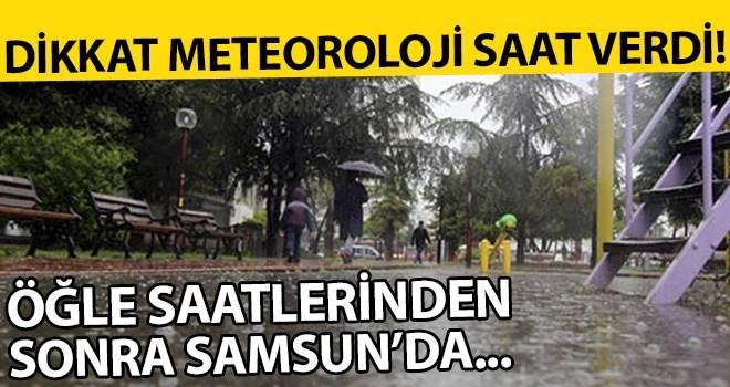 29 Ağustos Samsun'da Hava Durumu
