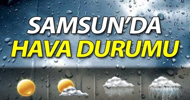 22 Kasım Samsun'da Hava Durumu